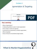 Marketing and Segmentation