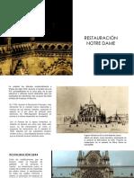 Notre Dame-Restauracion contexto historico