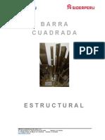 Barra Cuadrada Estructural