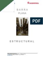 Barra Plana Estructural