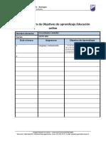 Ficha 1 de registro de Objetivos de aprendizaje Educación online 1.doc