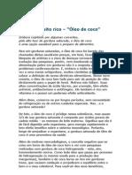Óleo de coco - Um óleo muito rico - Wilson Rondó Jr, Dr - ortomolecular - prevenção