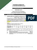 Topic 07 Energetics I and II Supplementary