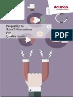 Acumen Proposal _ Sales Intervention _ QK