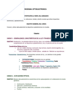 PROGRAMA DE OPTOELECTRONICA E - J 2020