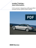 Electric Power Steering with Parallel Mounted Motor (EPS with APA)