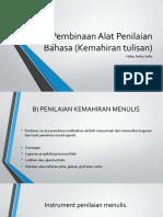 388357367-Pembinaan-Alat-Penilaian-Bahasa-Kemahiran-Tulisan.pptx