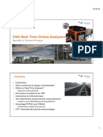 CNA REAL TIME ONLINE ANALYSERS - BENEFITS IN THE CEMENT PROVESS_RAJENDRA MISHRA