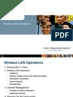 Wireless LAN Operations