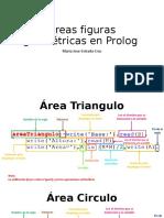 Áreas figuras geométricas en Prolog
