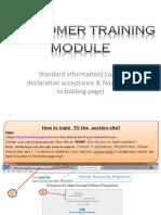 Standard Information  - Mass bid .ppt