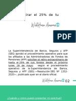 RETIRO DE AFP 25% (CUARENTENA)