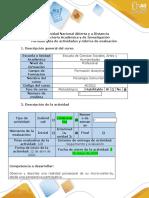 Guía de actividades y rúbrica de evaluación - Fase 4- Trabajo colaborativo 3