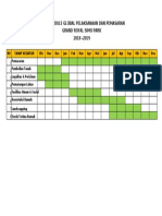 Time Schedule Proyek Grand Royal Jombang