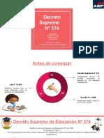 Presentaciones Normativa_Decreto Supremo 374 Grupo 5