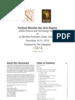Dakar Exhibit Book