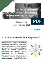 PROTOCOLO DE BIOSEGURIDAD PARA ENTREGA DE RPP HOGAR AMANESER