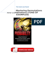 [PDF] Probability Mastering Permutations And Combinations Tons Of Examples