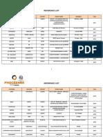 13-REF LIST PHOCEENNE REV.1 (2010-2017)