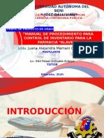 PRESENTACION FINAL - PERFIL PROYECTO FARMACIA ALAVE - JUANA MAMANI COPAJA.pptx