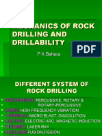 ROCK DRILLING AND DRILLABILITY.ppt