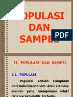 02. Populasi dan Sampel