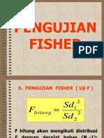 10. Pengujian Fisher