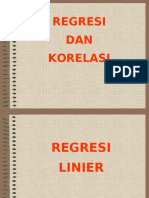 11. Regresi dan Korelasi