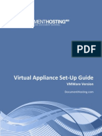 Document Hosting Virtual Appliance Setup Vmware
