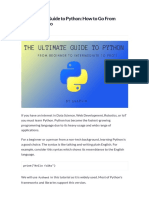 The Ultimate Guide to Python_ How to Go From Beginner to Pro