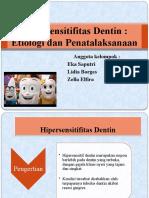 PPT PERIO Hipersensitifitas Dentin (1)