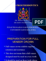 GTC 2 - PREPARATION FOR FULL VENEER CROWN (ppsg lectures)