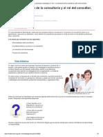 0_ La Importancia de La Consultoría y El Rol Del Consultor