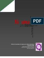 Informe de asesinatos de mujeres por violencia doméstica Puerto Rico 2006