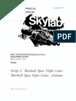 MSFC Skylab Extravehicular Activity Development Report