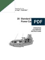 Operation and maintenance manual casing hydraulic tong Eckel 20_STD