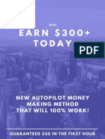 EARN $300+ Today (NEW AUTOPILOT MONEY MAKING METHOD THAT WILL 100% WORK!)