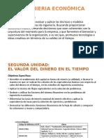 Unidad 2 VALOR DEL DINERO EN EL TIEMPO