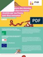 Rapport d'analyse des données sur les cas de discrimination récoltés par les Points Anti-Discrimination