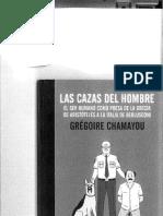 Las Cazas Del Hombre Gregoire Chamayou