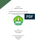 ROBERTO FERNANDES 1810246455 TUGAS PERBANDINGAN HUKUM INDONESIA & MESIR