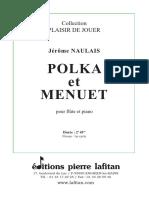 """NAULAIS Jérôme  """"Polka et menuet"""""""