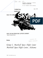 MSFC Skylab Operations Support Summary