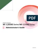WF-C20590 Series/WF-C17590 Series Administrator's Guide