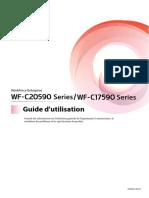 WF-C20590 Series/WF-C17590 Series Guide d'utilisation