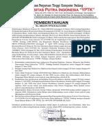 Surat Pemberitahuan 14052020