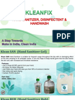 Kleanfix- Germ Control Brochure