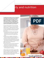 Fact sheet Elderly and nutrition
