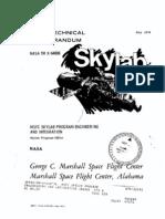 MSFC Skylab Program Engineering and IntegeratIon