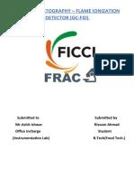 Instrumentation Lab Assignment on GC-FID